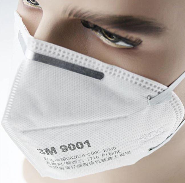 Медицинская маска 3M 9001 (100 МАСОК)