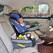 Bugs® Детский универсальный автомобильный столик для автокресла, фото 5