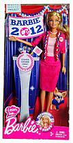 Кукла Барби Я могу быть Президент Barbie I Can Be President B Party 2012 Mattel X5323