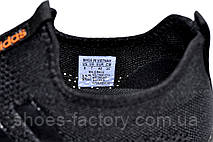 Летние кроссовки в стиле Adidas, Black\Orange, фото 3