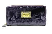 Фиолетовый лаковый кошелек на молнии Balisa (10722), фото 1