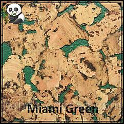 Коркові панелі (шпалери) Miami Green TM Egen 600*300*3 мм