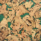 Пробковые панели (обои) Miami Green TM Egen 600*300*3 мм, фото 3