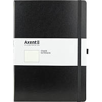 Книга записная Axent Partner Grand, 295*210, 100л, точка, черная 8303