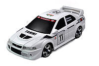 Автомодель Firelap IW04M Mitsubishi Evo 4WD на радиоуправлении, масштаб 1к28 белый SKL17-139676