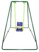 Качели детские разборные на все сезоны  «Take&Ride baby swing green»