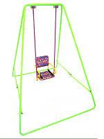 Качели детские разборные на все сезоны  «Take&Ride baby swing light green »