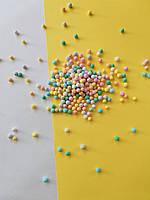 """Кондитерская посыпка сахарные шарики """"мимоза цветная"""" AMARISCHIA (100 грамм)"""