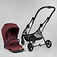 Детская прогулочная коляска JOY Liliya 10105 Вишневый, футкавер, фото 7