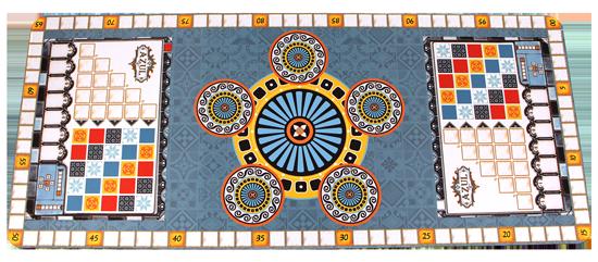 Аксессуар Azul Playmat (Неопреновый игровой коврик для игры Azul)
