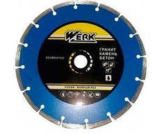 Алмазный диск Werk Segment (180x7x22.23 мм)