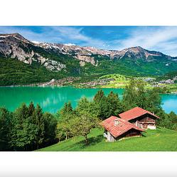 Пазлы Бриенцское озеро, Берн, Швейцария,500 элементов Dankotoys
