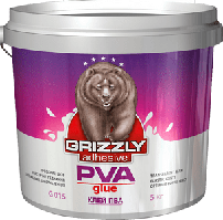 Клей ПВА Grizzly, 10 кг