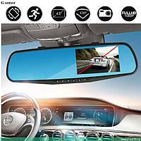 Автомобильный регистратор (авторегистратор) Vehicle Blackbox DVR 4.3 д. видеорегистратор-зеркало заднего вида