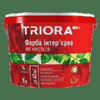 Краска интерьерная моющаяся Triora, 5 л