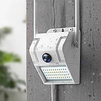 Беспровдная уличная Ip-камера-прожектор 2 в 1 MARSHAL K85 Wi-Fi Hd белая