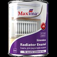 Эмаль алкидная для радиаторов отопления Maxima белая, 0.9 л
