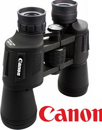 Водонепроницаемый бинокль Canon SW-010 20x50 + чехол для охоты и рыбалки, фото 2
