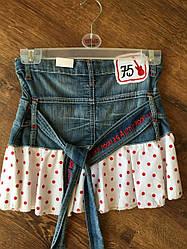 Стильная джинсовая юбка для девочки