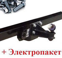 Фаркоп Renault Master ЗАДНИЙ ПРИВОД (с 2010--) с подножкой