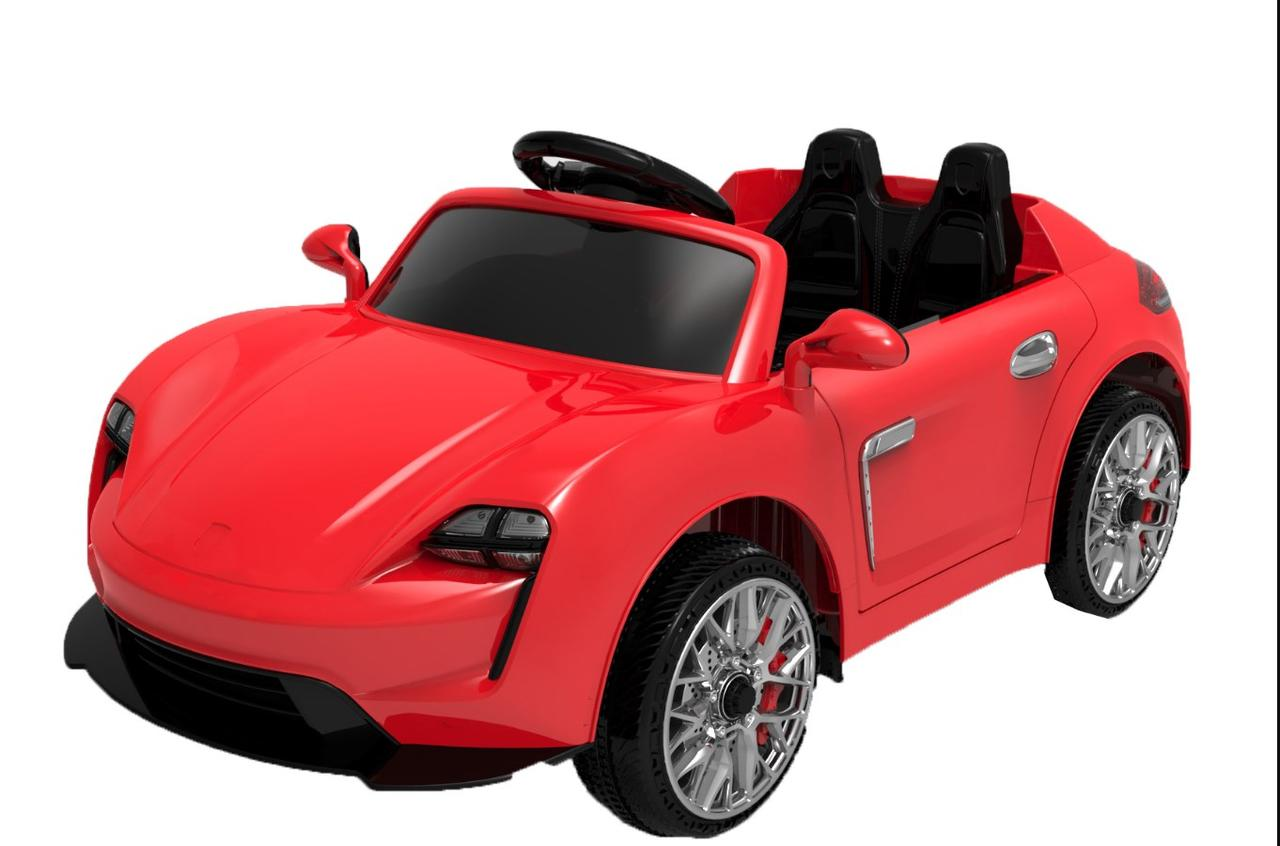 Эл-мобиль FL1718 EVA RED легковая на Bluetooth 2.4G Р/У 2*6V4.5AH мотор 2*25W 110*57*49 /1/