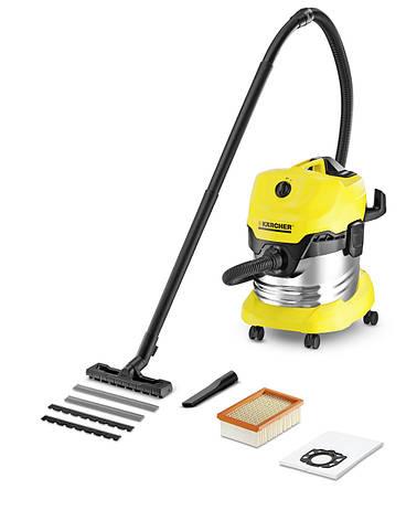 Пылесос Karcher WD4 Premium (1.348-151.0) (для сухой уборки и сбора воды), фото 2