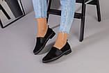 Женские туфли из черной замши, фото 6