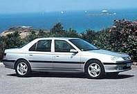 Дефлекторы окон, ветровики \ Peugeot 605 4d 1990+ \  Пежо 605 \ RACING