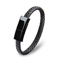 Кабель ARS Lightning Bracelet Flat Black (56175)