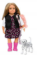 Акция! Кукла LORI 15 см Гиа с собачкой Далматинец LO31058Z [Скидка 5%, при условии 100% предоплаты!]