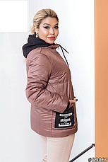 Куртка женская яркая демисезонная большие размеры: 48-62, фото 3