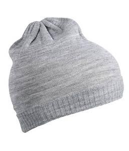 Тонка шапка біні MLGM Світло-Сірий Меланж