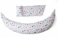 Акция! Подушка для беременных и для кормления Nuvita 10 в 1 DreamWizard Белая NV7100White [Скидка 5%, при условии 100% предоплаты!]