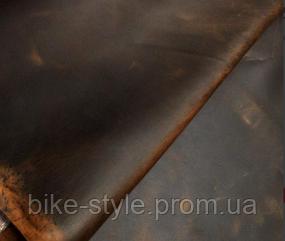 Кожа, куски кожи Crazy Horse Италия коричневая