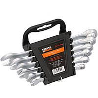 Набір ключів ріжково-накидних 8-17 мм, 6 шт FASTER TOOLS