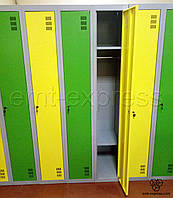 Металлические шкафы для одежды ШМ-4-4-300х1800 Наполнение шкафа