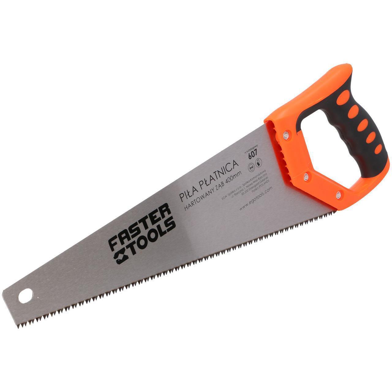 Ножівка з гартованими зубами 450 мм FASTER TOOLS