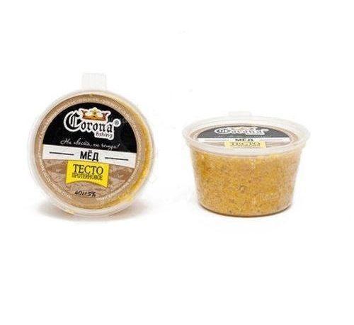 Тесто протеиновое Сorona® 40g Мед