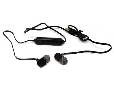Наушники вакуумные с микрофоном металл Bluetooth A1