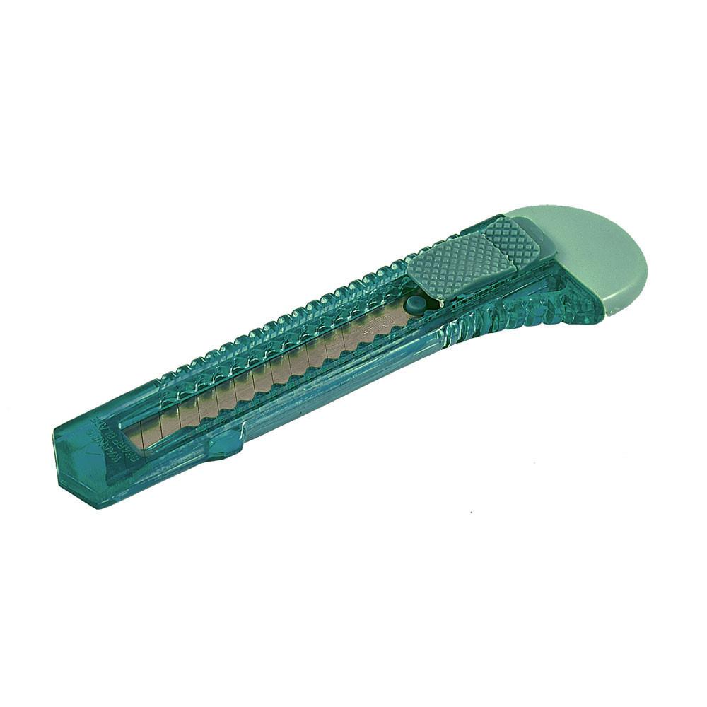 Ніж для шпалер прозорий 18 мм FASTER TOOLS