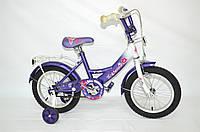 """Дитячий велосипед Veloz 14"""" фіолетовий"""