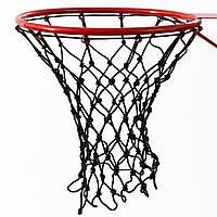 Сетка баскетбольная «СТАНДАРТ», шнур диаметром 4,5 мм. (стандартная) черная для Республики Молдова