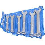 Ключі ріжково-накидні 8-17 мм, 6 шт HIGO, фото 2