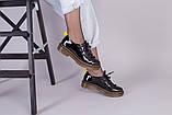 Женские черные лаковые туфли, фото 2