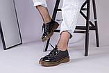 Женские черные лаковые туфли, фото 5
