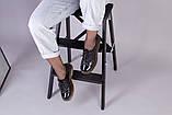 Женские черные лаковые туфли, фото 6