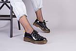 Женские черные лаковые туфли, фото 8