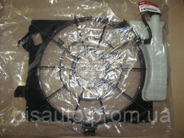 Диффузор вентилятора радиатора Hyundai Accent/Veloster 11-/I20 12-/Kia Rio 11- (пр-во Mobis)