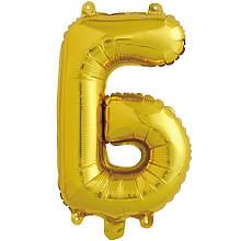 Фольгированный шар буква Б 1451