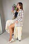 Туфли женские кожаные молочного цвета, каблук 6,5 см, фото 7